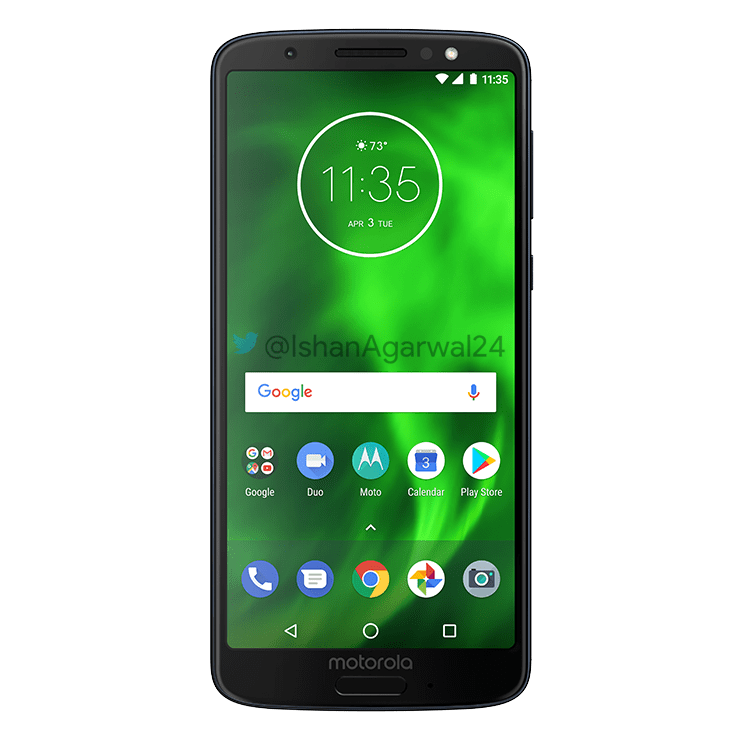 Moto G6, Moto G6 Play & Moto G6 Plus - Here are the high quality renders 15