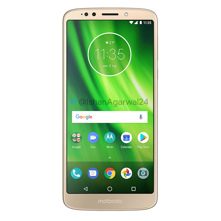 Moto G6, Moto G6 Play & Moto G6 Plus - Here are the high quality renders 3