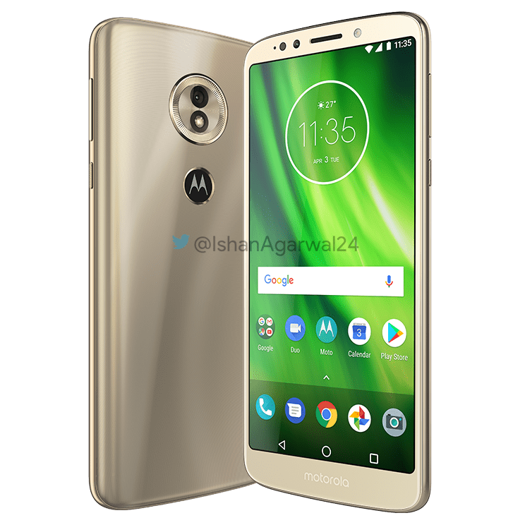 Moto G6, Moto G6 Play & Moto G6 Plus - Here are the high quality renders 4