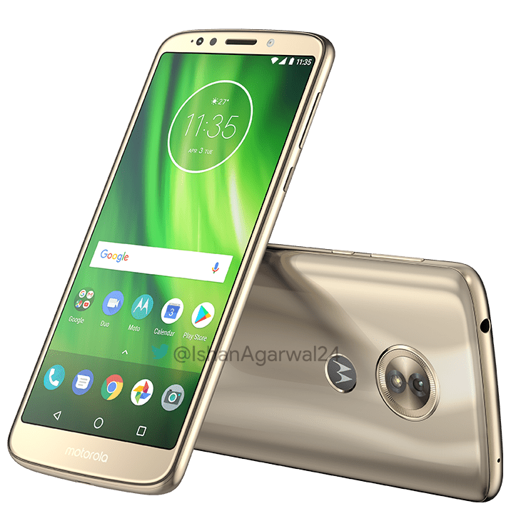 Moto G6, Moto G6 Play & Moto G6 Plus - Here are the high quality renders 5
