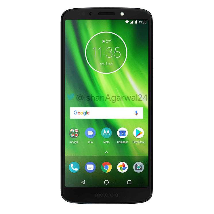 Moto G6, Moto G6 Play & Moto G6 Plus - Here are the high quality renders 7