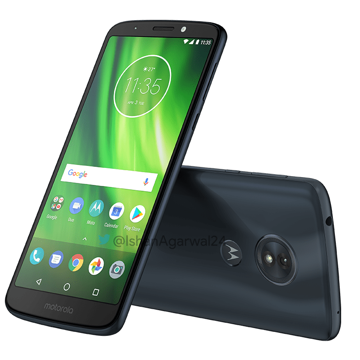 Moto G6, Moto G6 Play & Moto G6 Plus - Here are the high quality renders 9