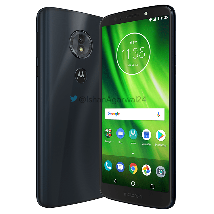 Moto G6, Moto G6 Play & Moto G6 Plus - Here are the high quality renders 10