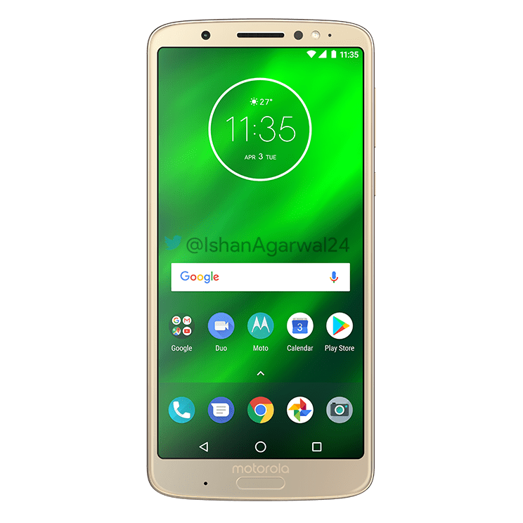 Moto G6, Moto G6 Play & Moto G6 Plus - Here are the high quality renders 27