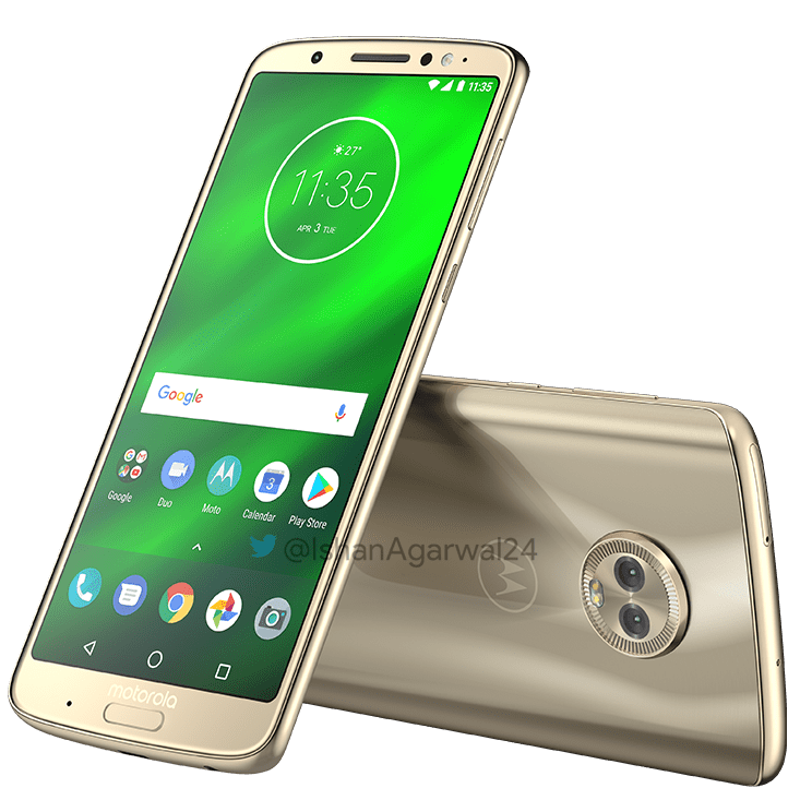 Moto G6, Moto G6 Play & Moto G6 Plus - Here are the high quality renders 30