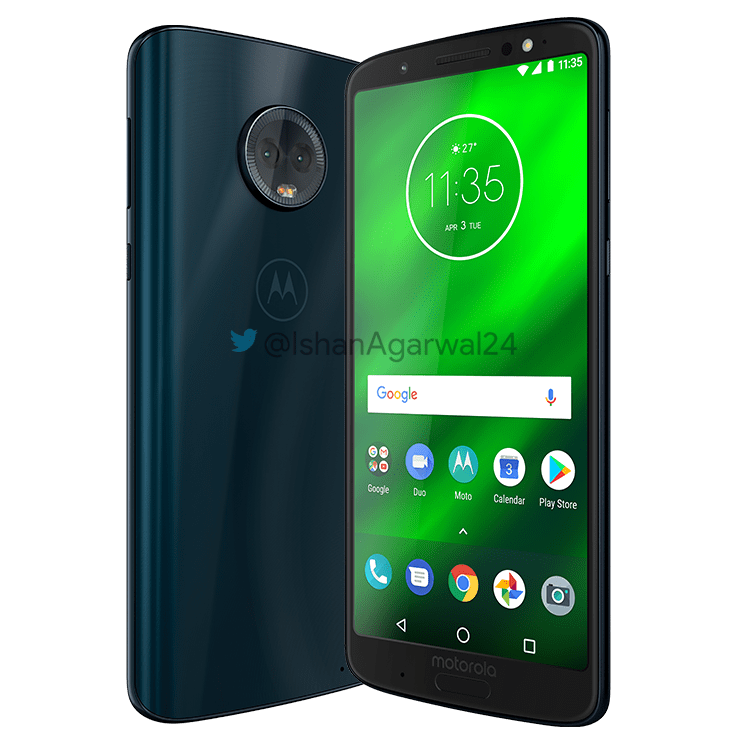 Moto G6, Moto G6 Play & Moto G6 Plus - Here are the high quality renders 34