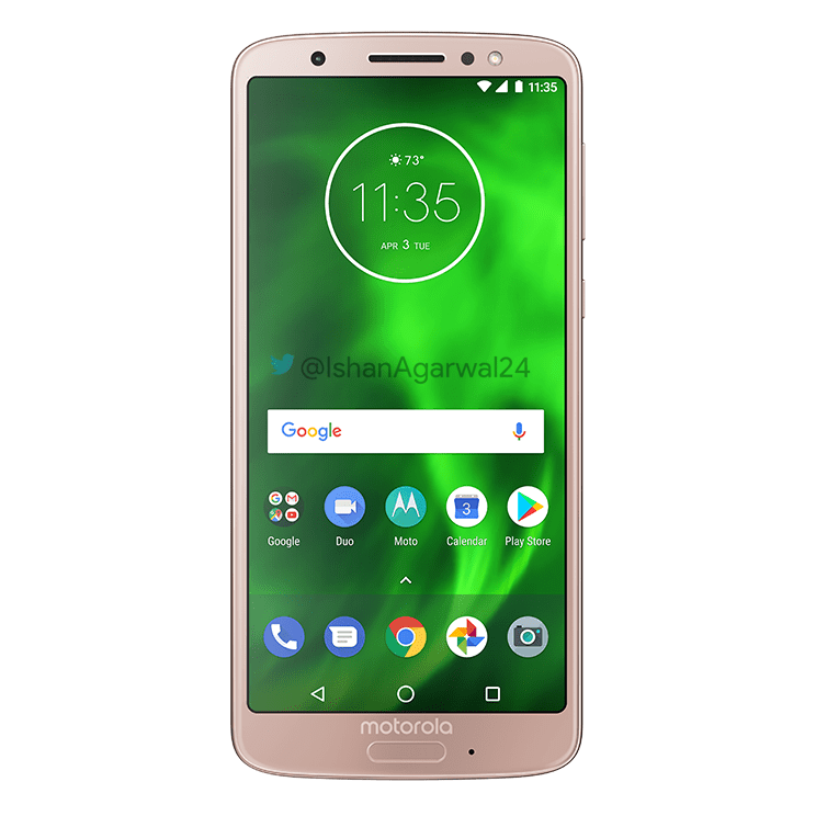Moto G6, Moto G6 Play & Moto G6 Plus - Here are the high quality renders 19