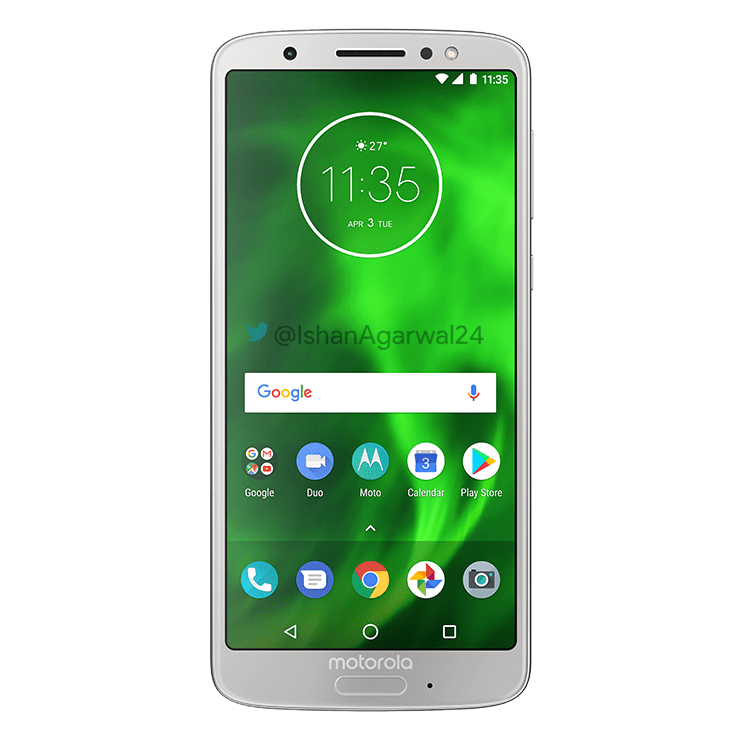 Moto G6, Moto G6 Play & Moto G6 Plus - Here are the high quality renders 23