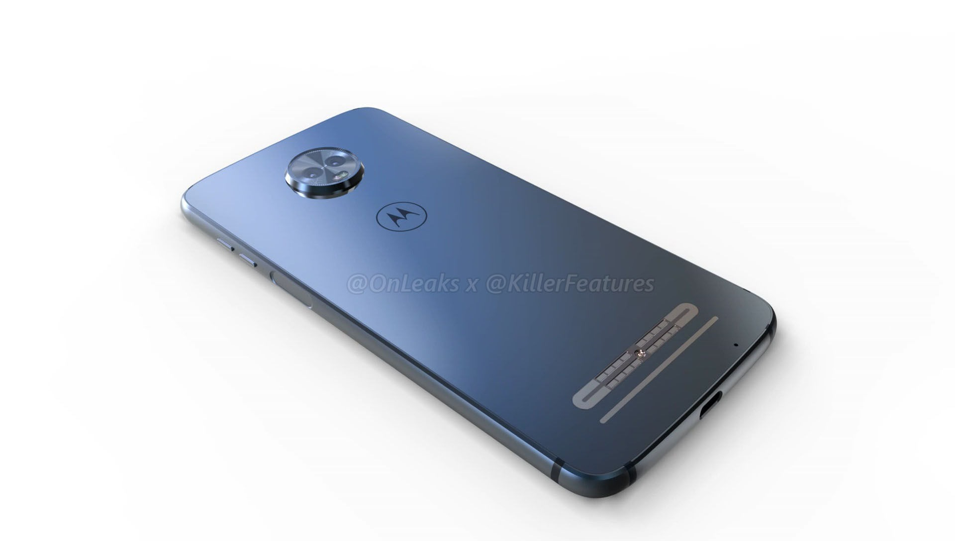 Here are the 360-degree renders of the upcoming Moto Z3 Play