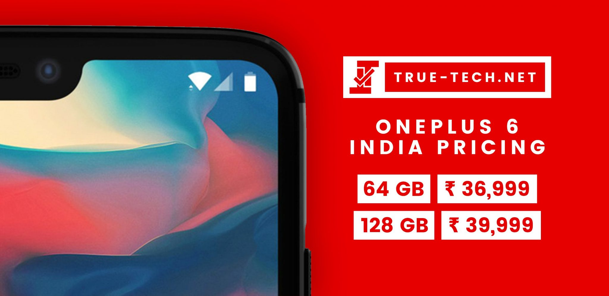 [UPDATE] Alleged OnePlus 6 pricing for India leaks out 1