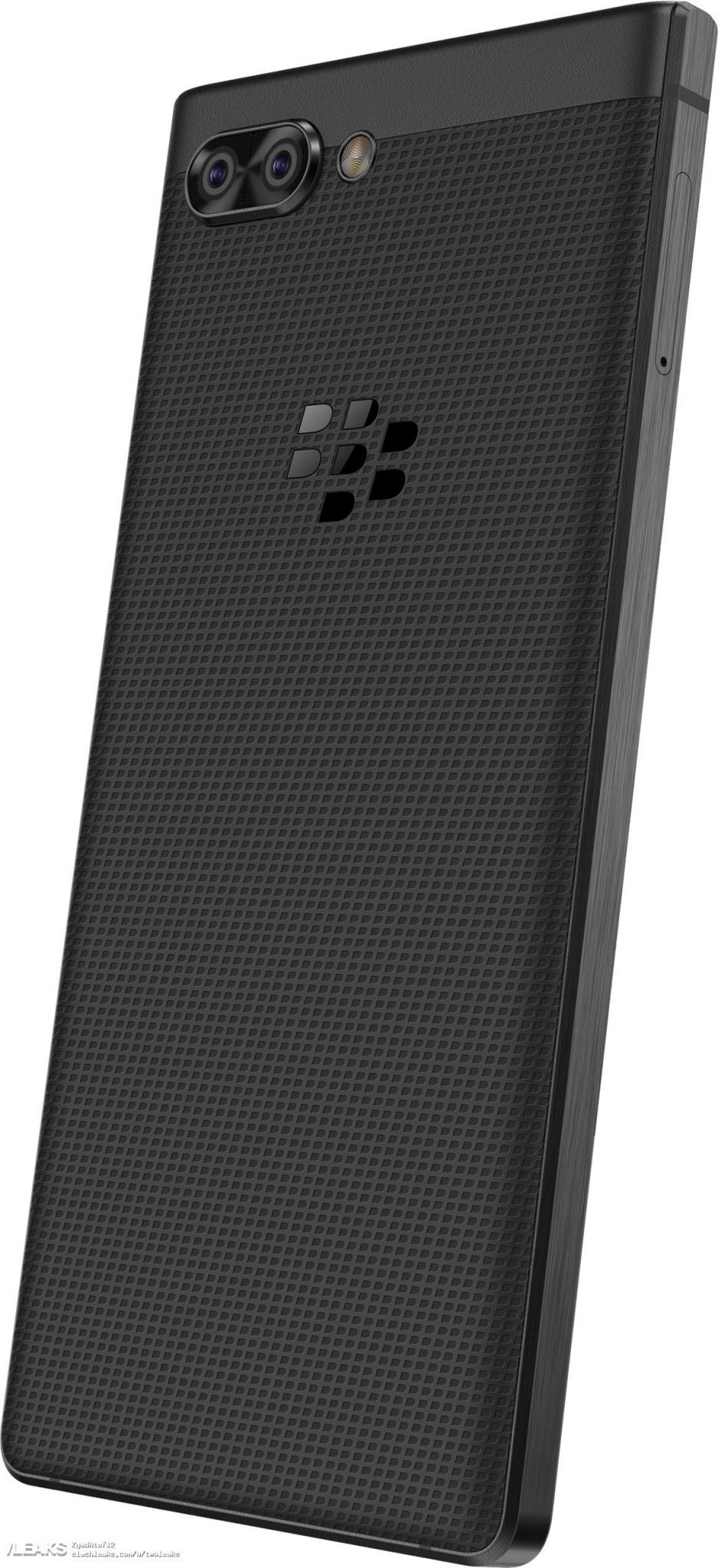 Blackberry KeyTwo (Athena) renders reveal Qwerty keyboard & dual cameras 4