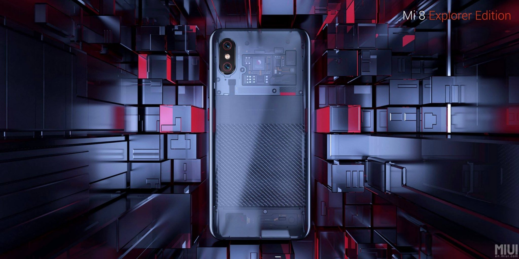 Xiaomi Mi 8 Explorer Edition comes with an in-screen fingerprint scanner 1