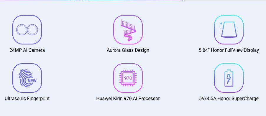 Honor 10 to be priced under $450 for the Middle-eastern countries 6