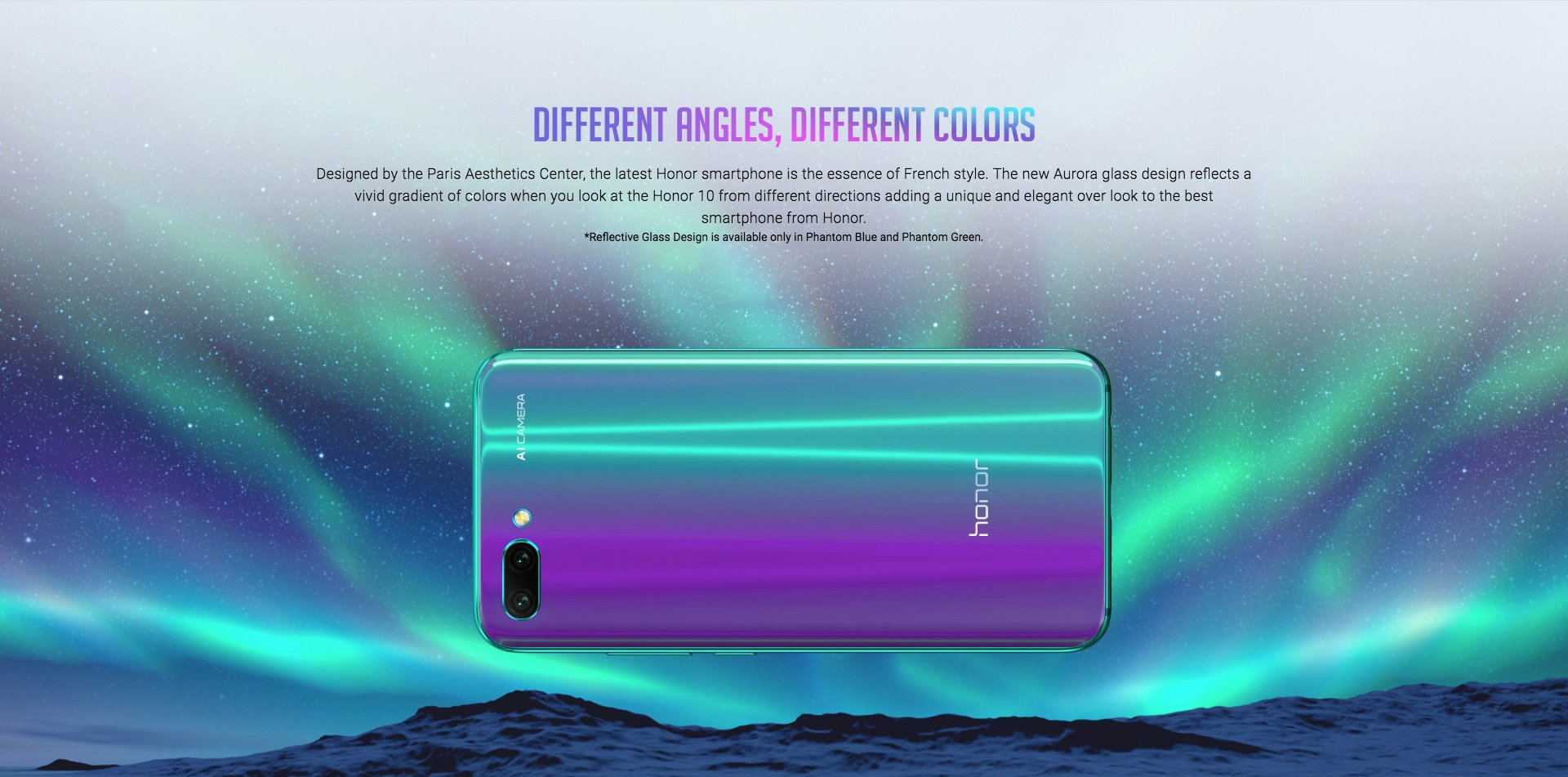 Honor 10 to be priced under $450 for the Middle-eastern countries 4