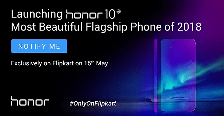 Honor 10 Launching on May 15