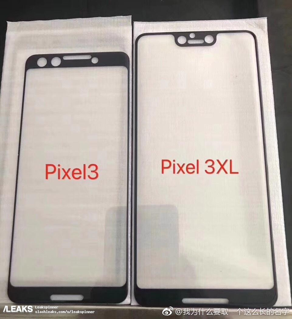 This is probably our first look at the design of Google Pixel 3 & Pixel 3 XL 3
