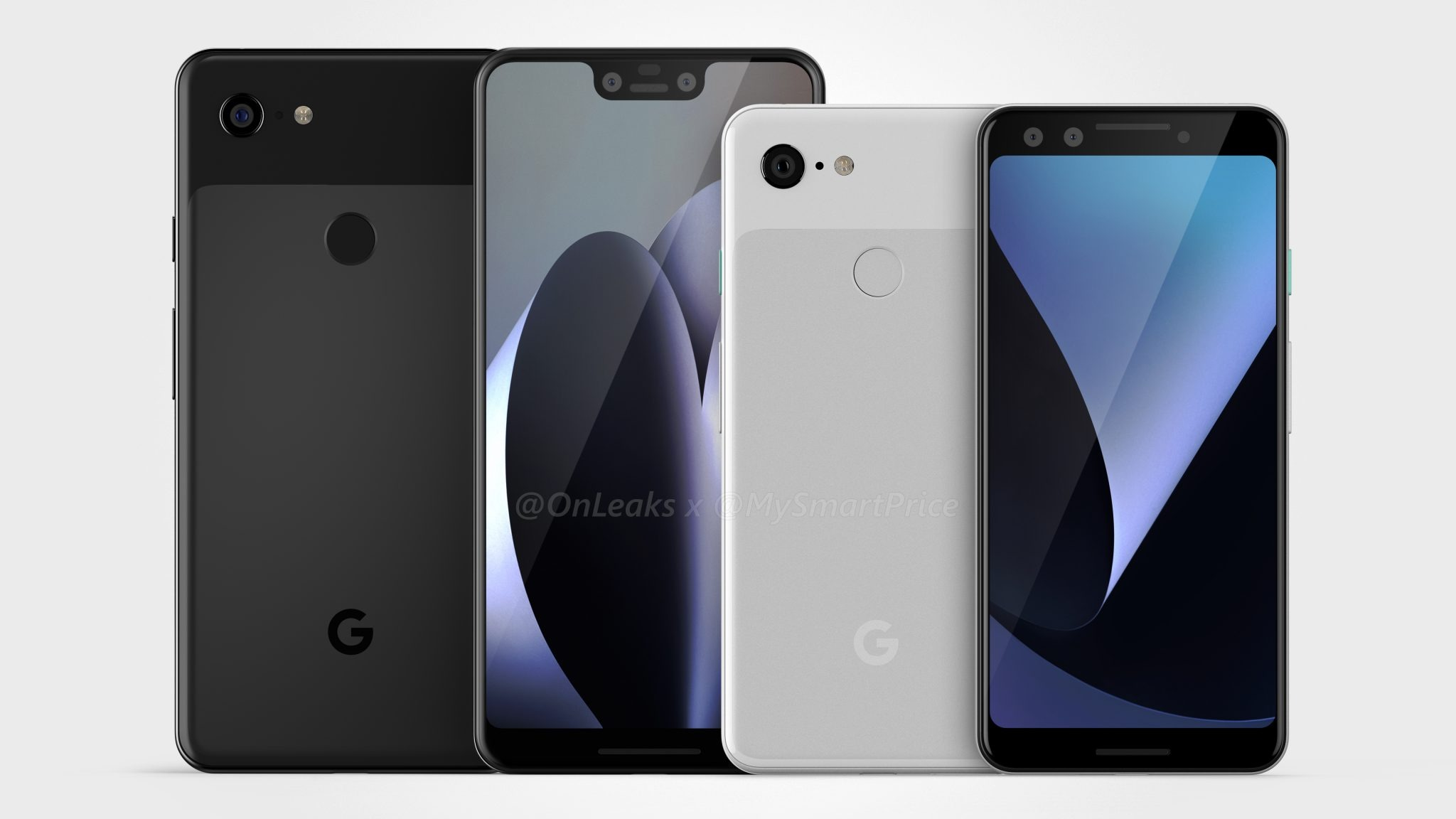 Google Pixel 3 & Pixel 3 XL - Here's our best look at the design 1
