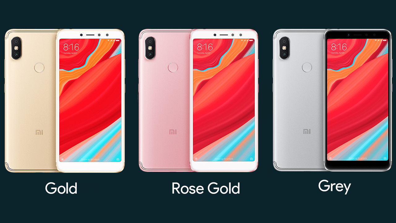 Xiaomi Redmi Y2 Color Options