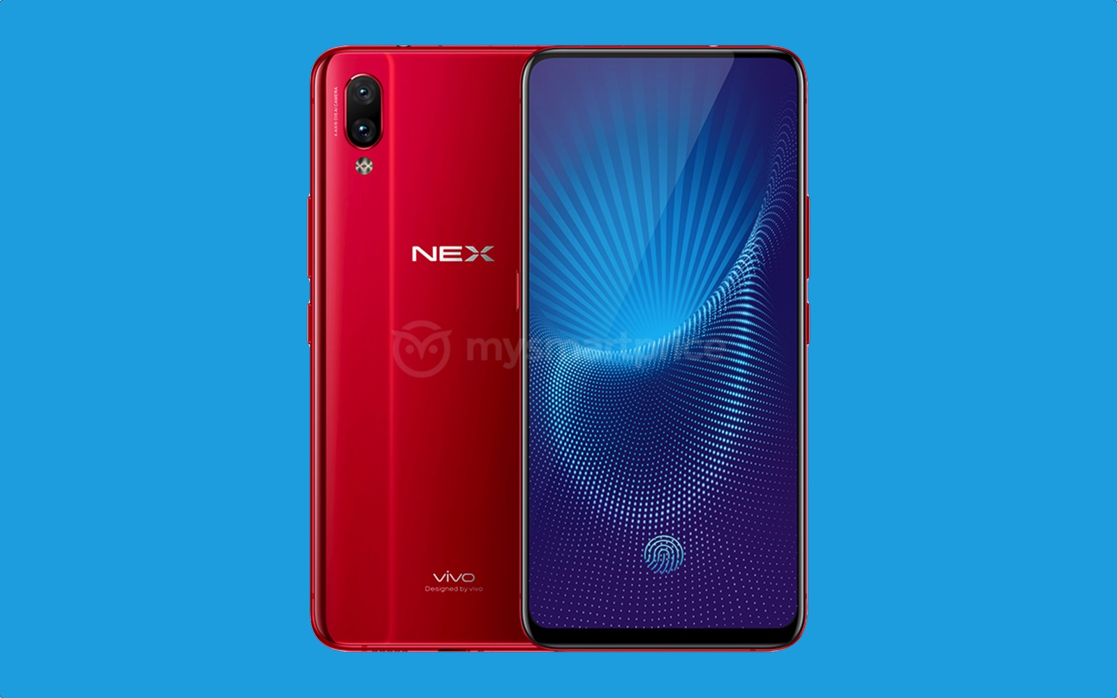 This is the Vivo Nex