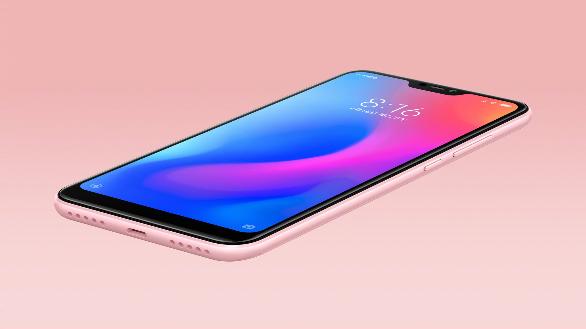 This is the Xiaomi Redmi 6 Pro with a Notch & dual cameras 6