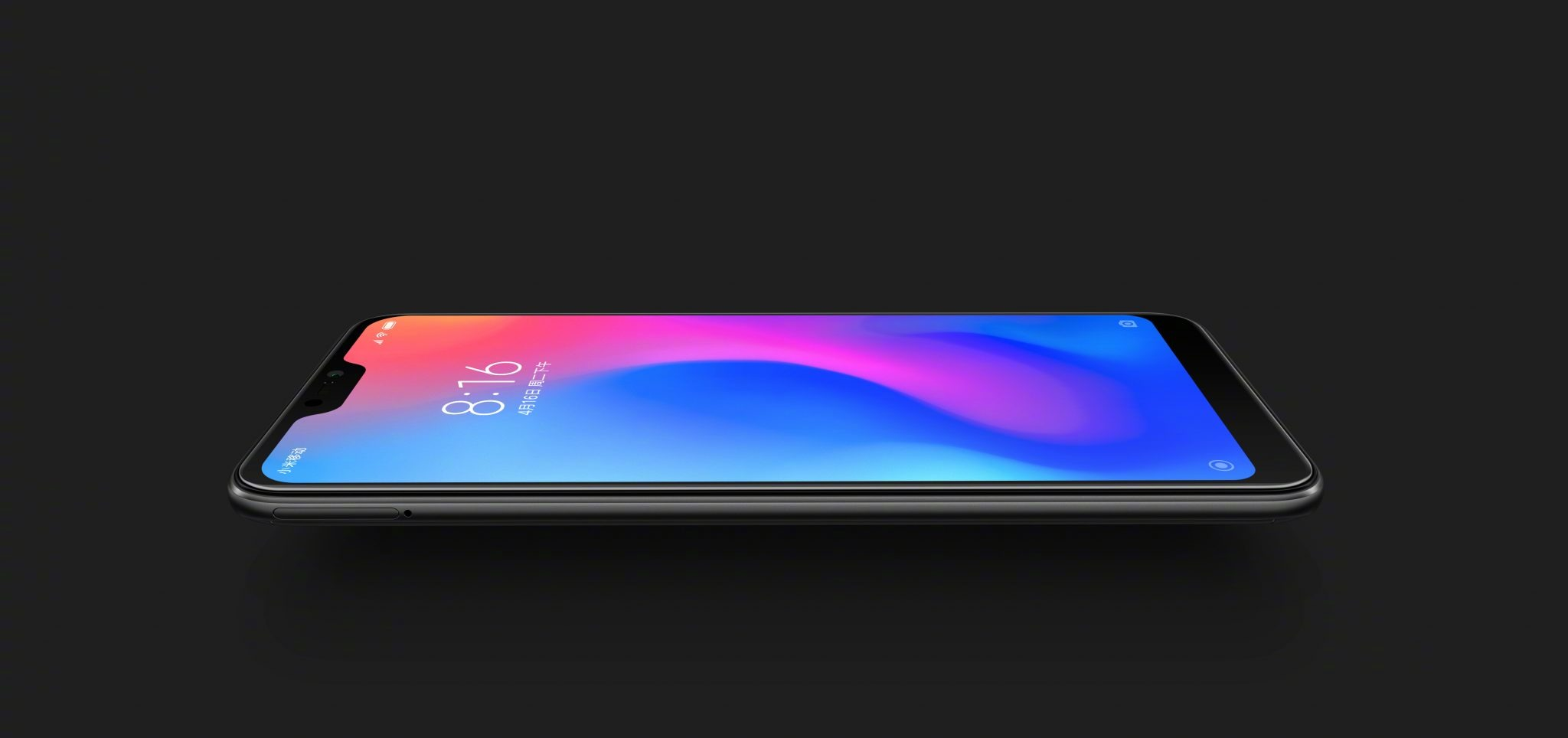 This is the Xiaomi Redmi 6 Pro with a Notch & dual cameras 5