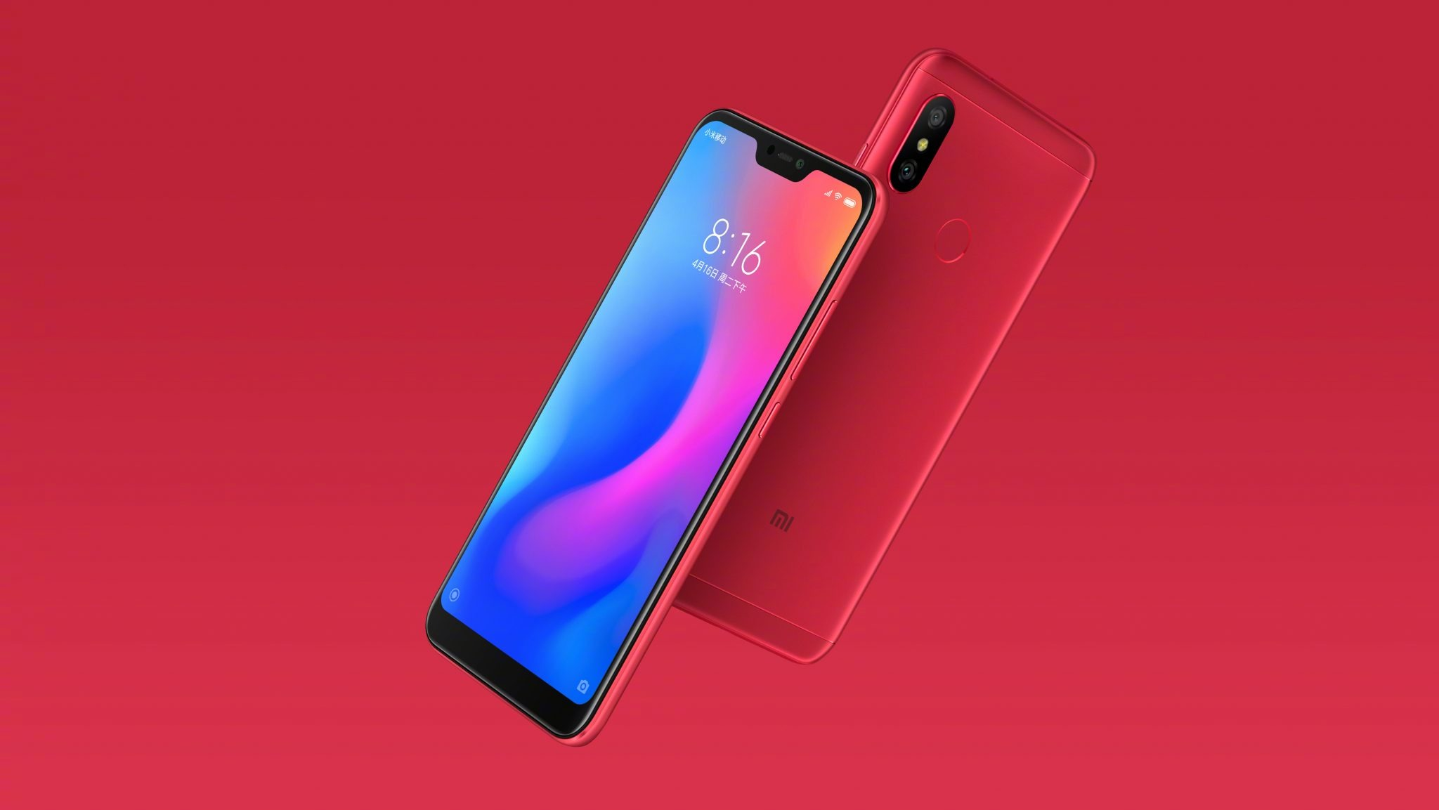 This is the Xiaomi Redmi 6 Pro with a Notch & dual cameras 1