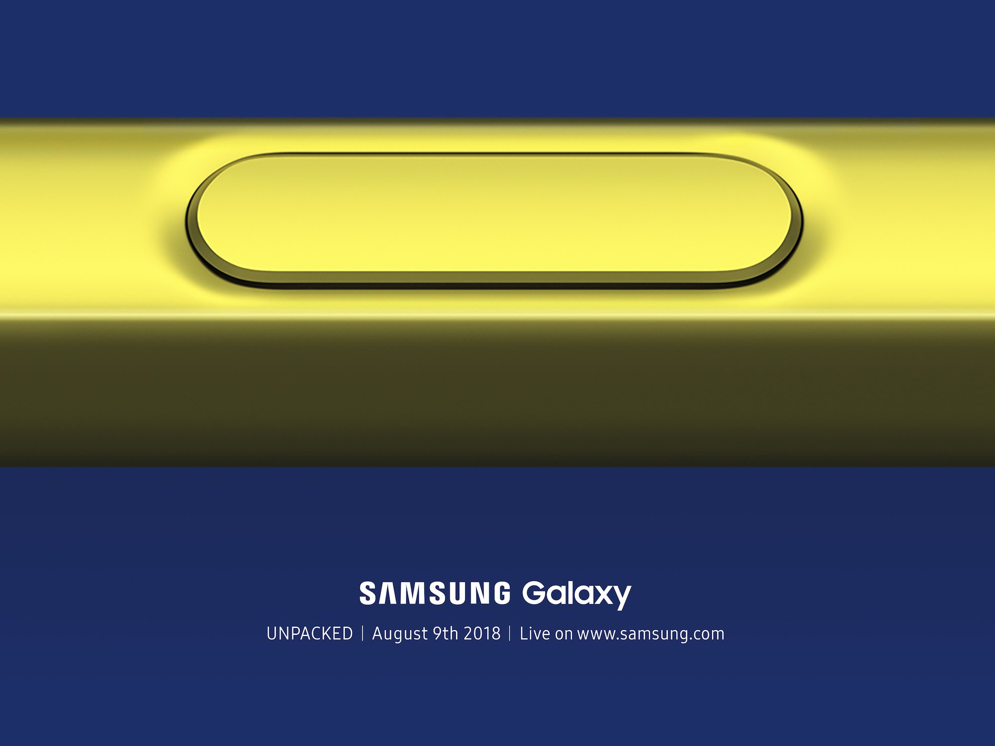 Mark the Date - Samsung Galaxy Note 9 is launching on August 9 1