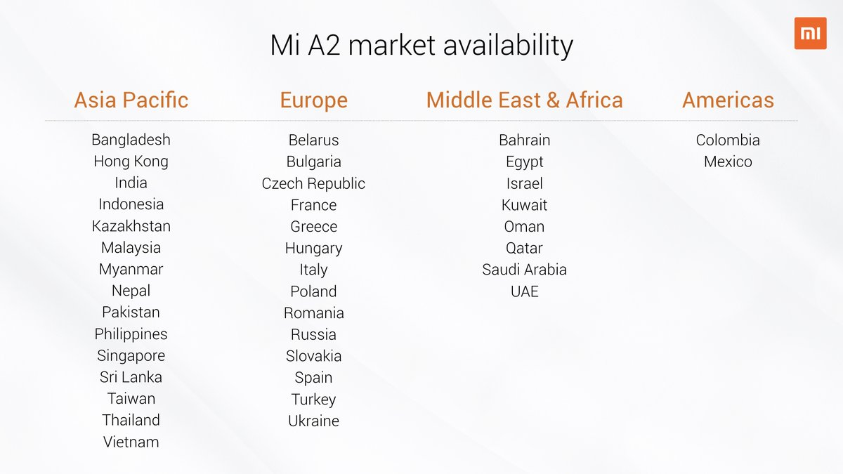 Xiaomi Mi A2 and Mi A2 Lite are now official - Here's all you need to know 25