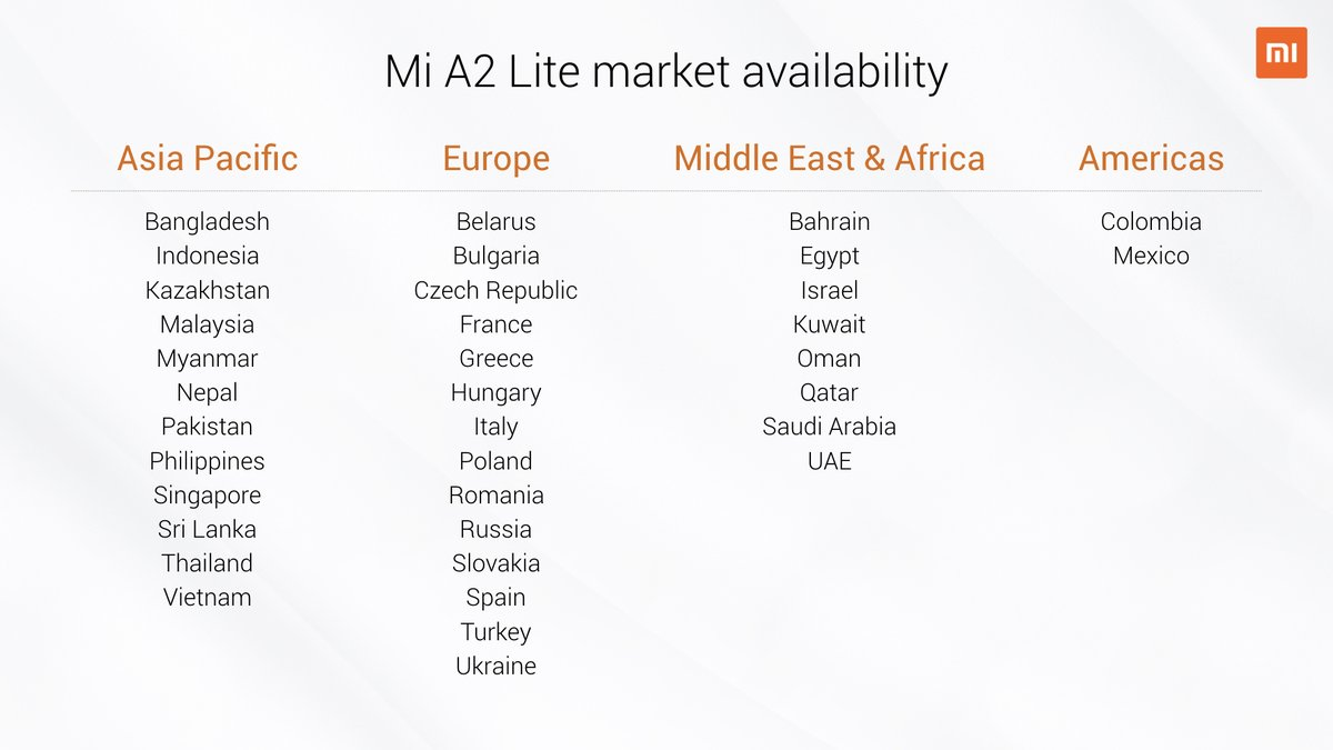 Xiaomi Mi A2 and Mi A2 Lite are now official - Here's all you need to know 12