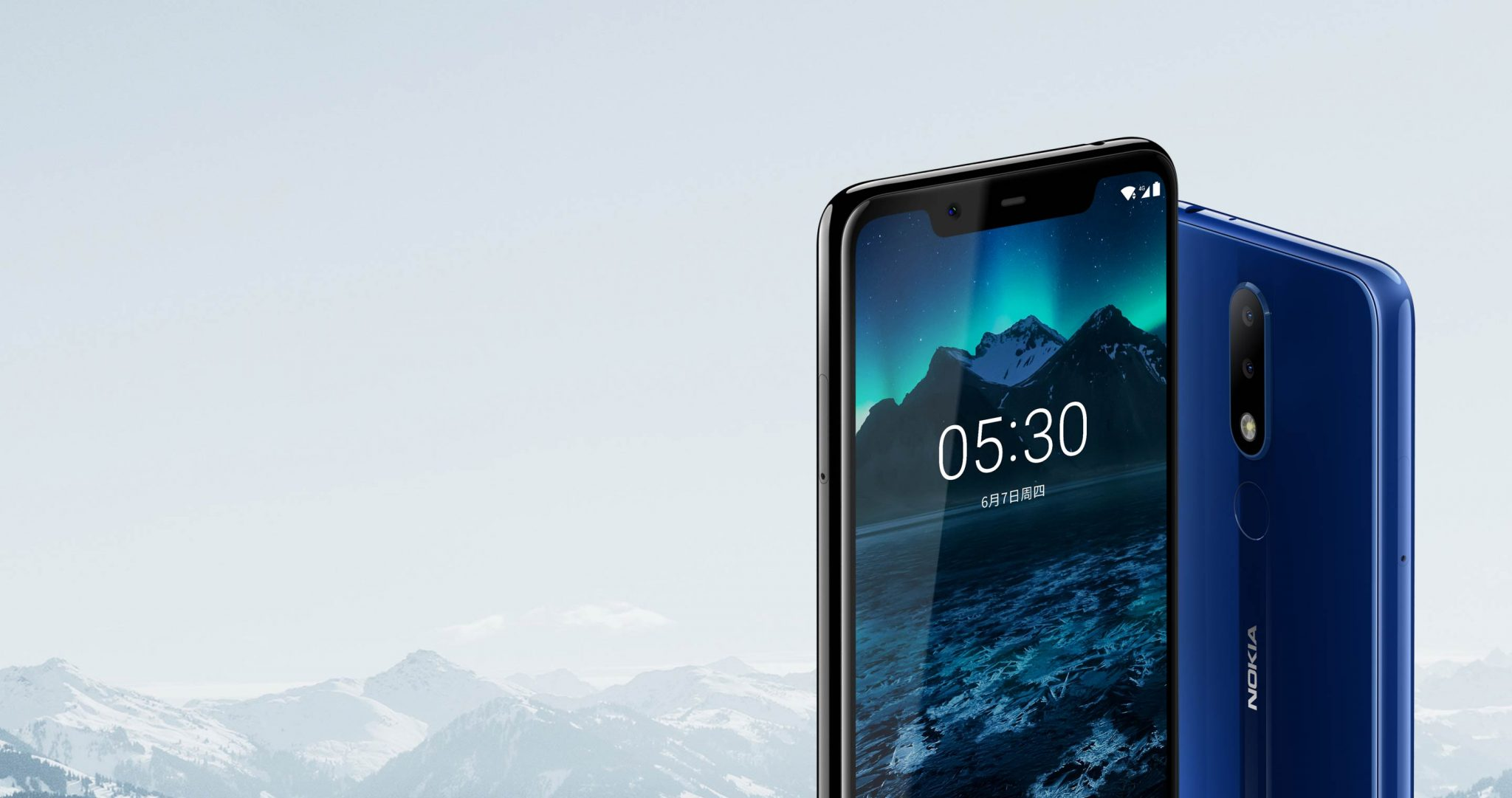 Nokia X5 is now official with Helio P60, Dual Cameras & a Notch 1
