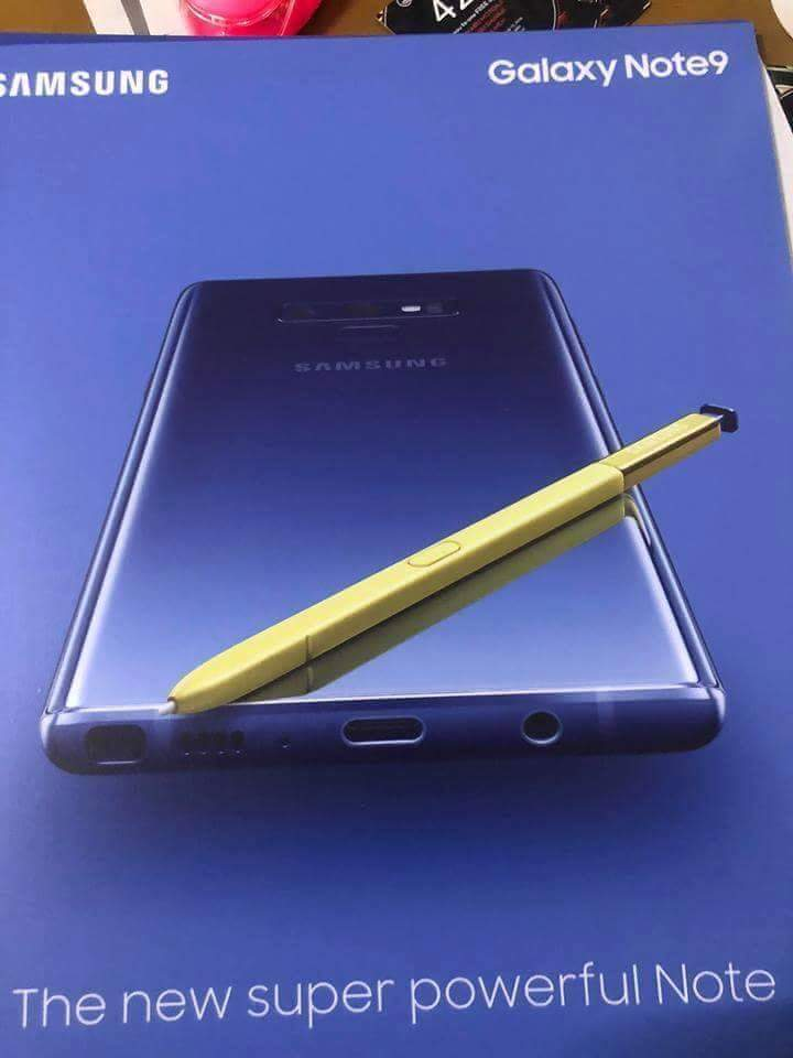 Samsung Galaxy Note 9 Poster