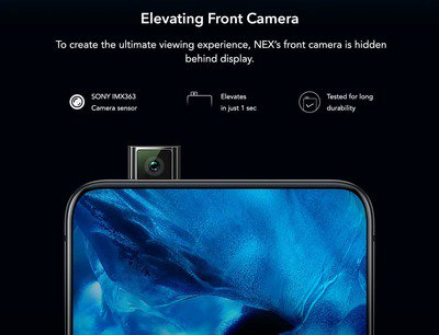 Vivo NEX, priced at Rs 48,990, will launch in India as Amazon Exclusive 11
