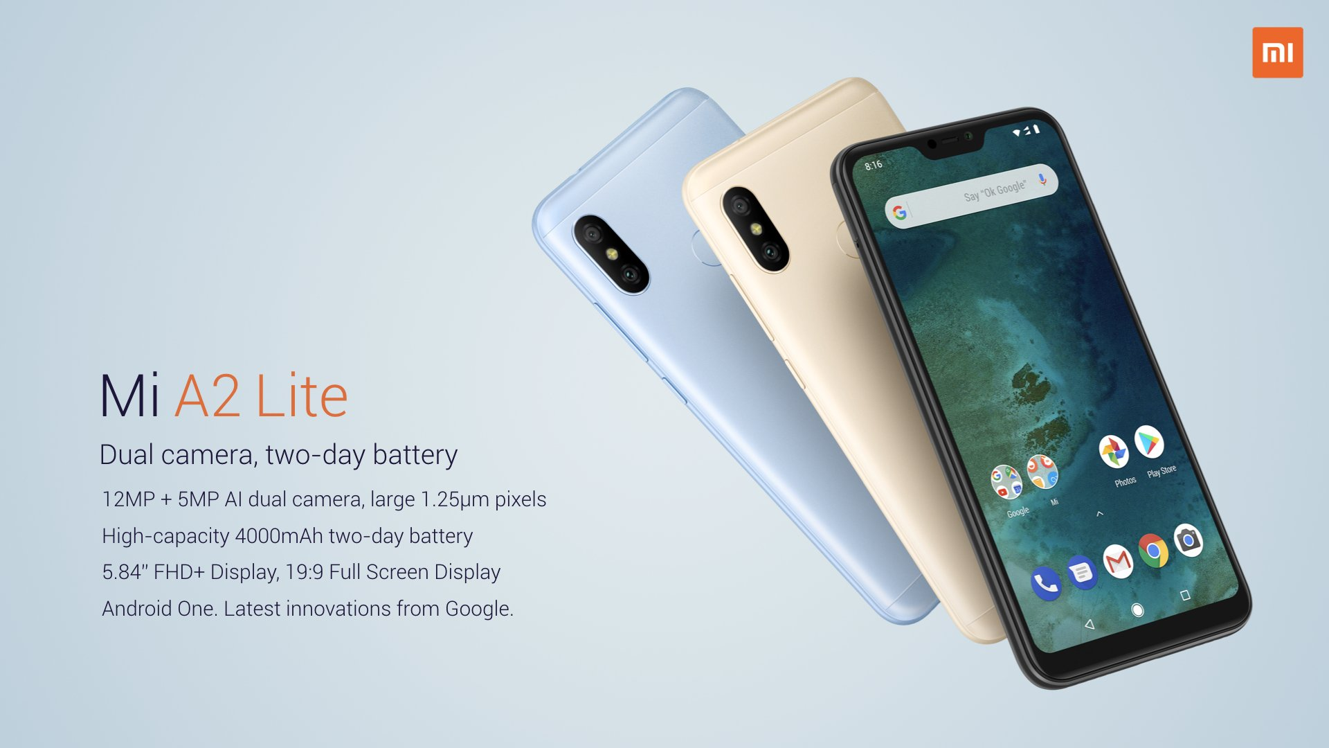 Xiaomi Mi A2 and Mi A2 Lite are now official - Here's all you need to know 4