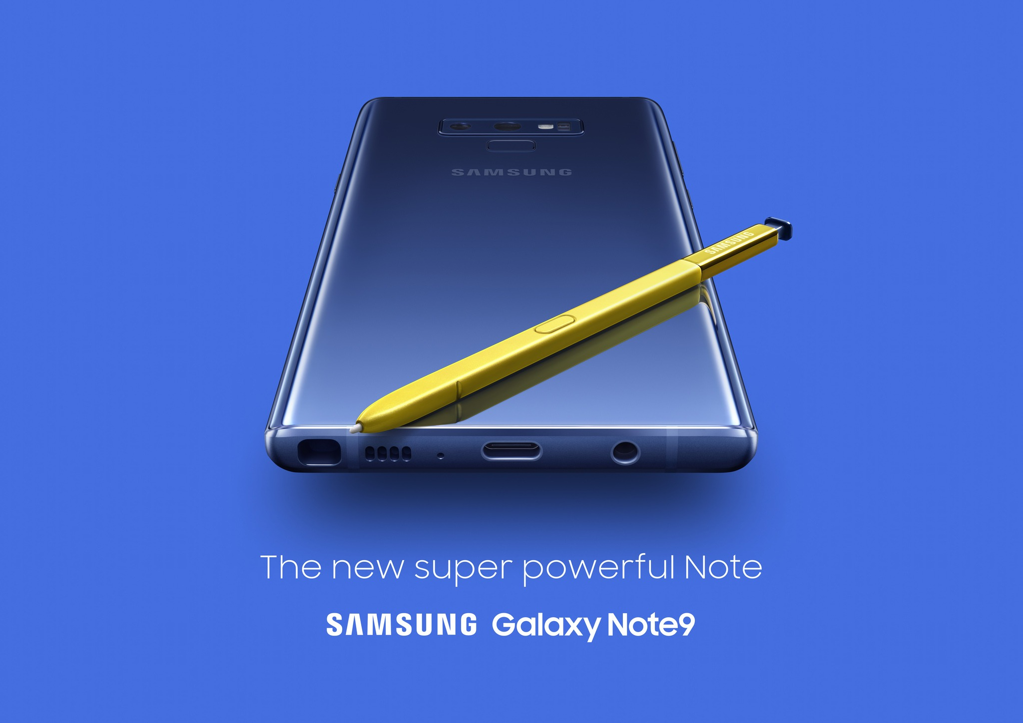 Samsung Galaxy Note 9 announced with dual cameras & improved S-Pen 1