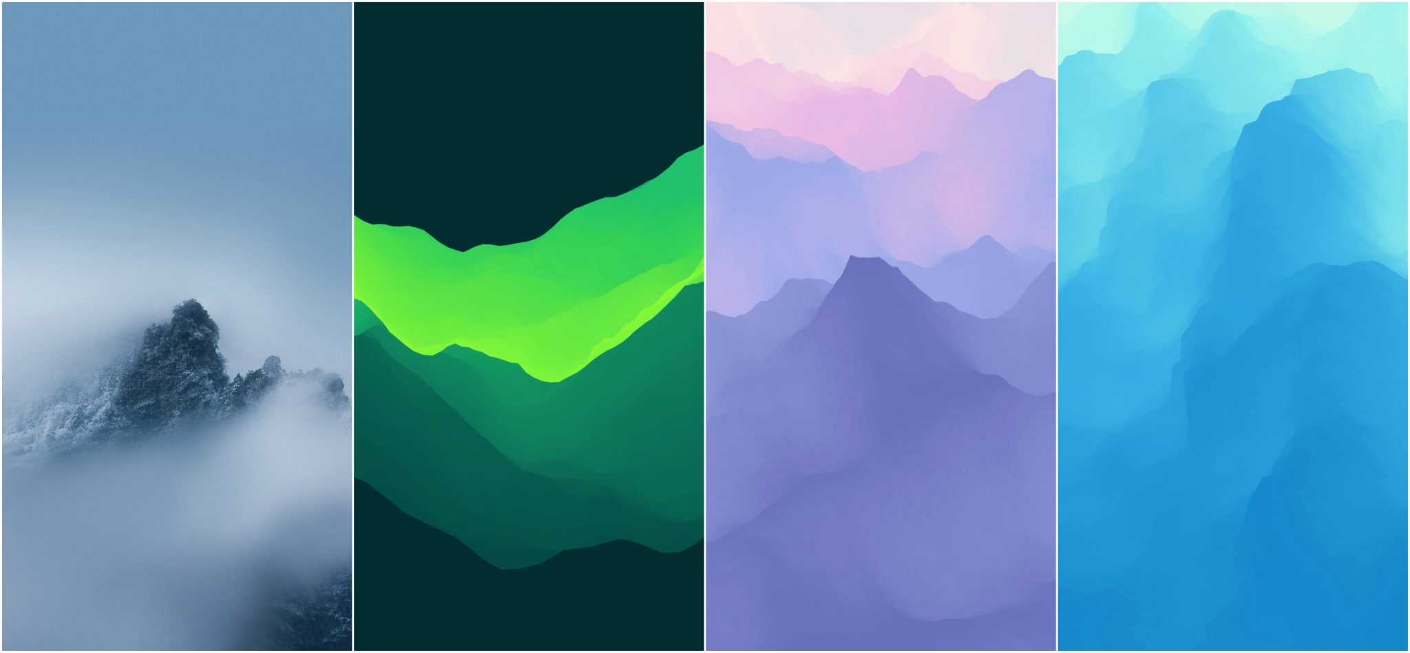 Meizu 16 Stock Wallpapers