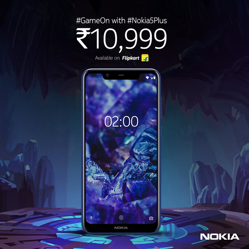 Nokia 5.1 Plus with Helio P60 launched in India at Rs 10,999 5