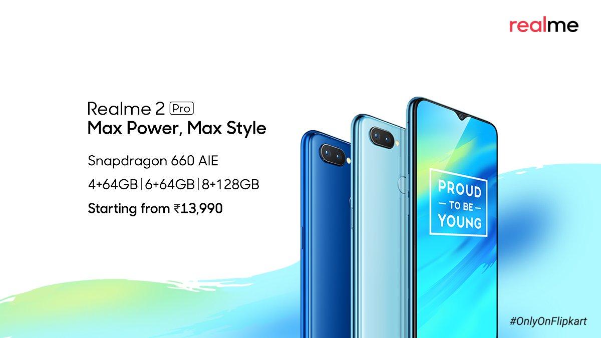 Realme 2 Pro Pricing