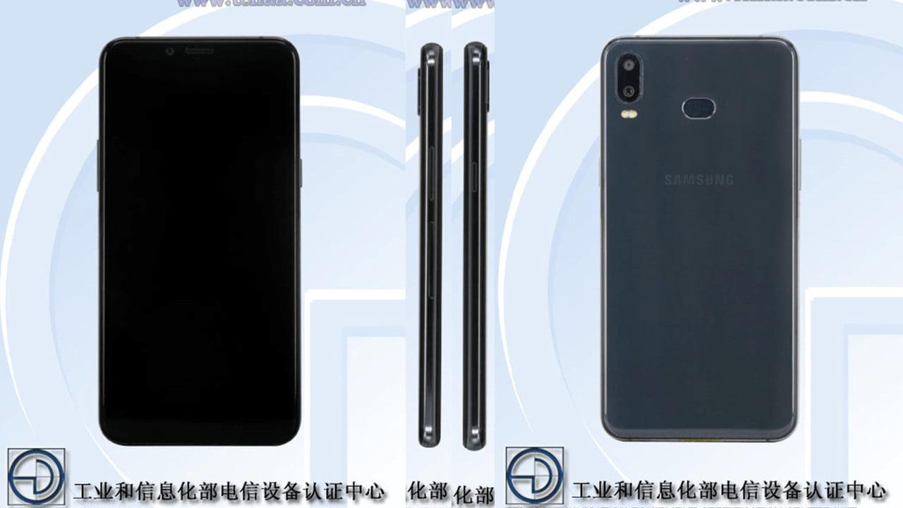 Alleged Samsung Galaxy A6s on TENAA