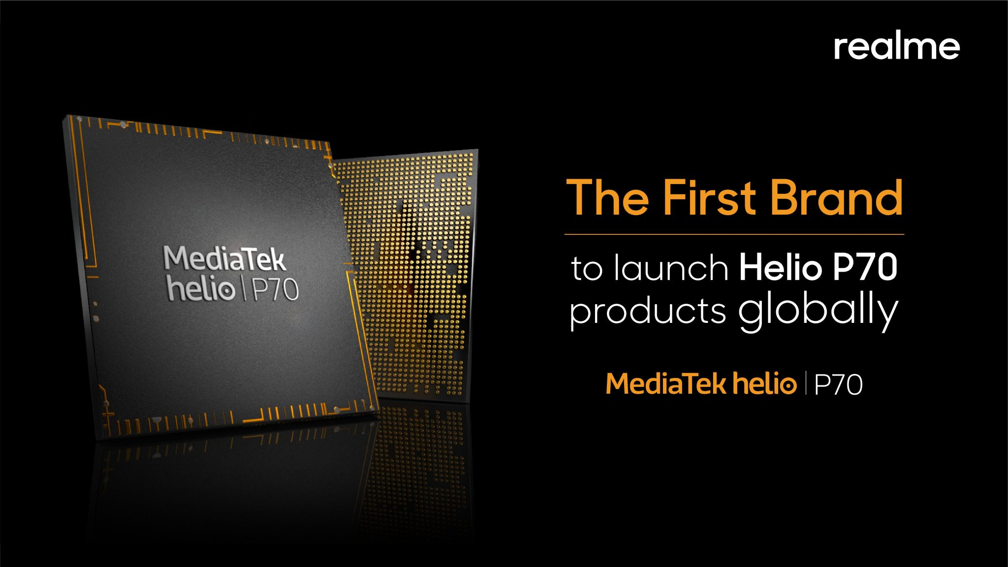Realme will be the first to launch Helio P70-powered phone globally