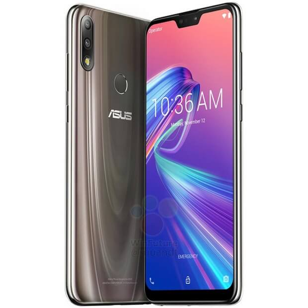 Asus Zenfone Max Pro M2 press renders leaked in Gold and Blue