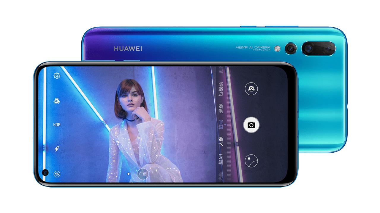 Huawei Nova 4 launched with in-display camera & Kirin 970
