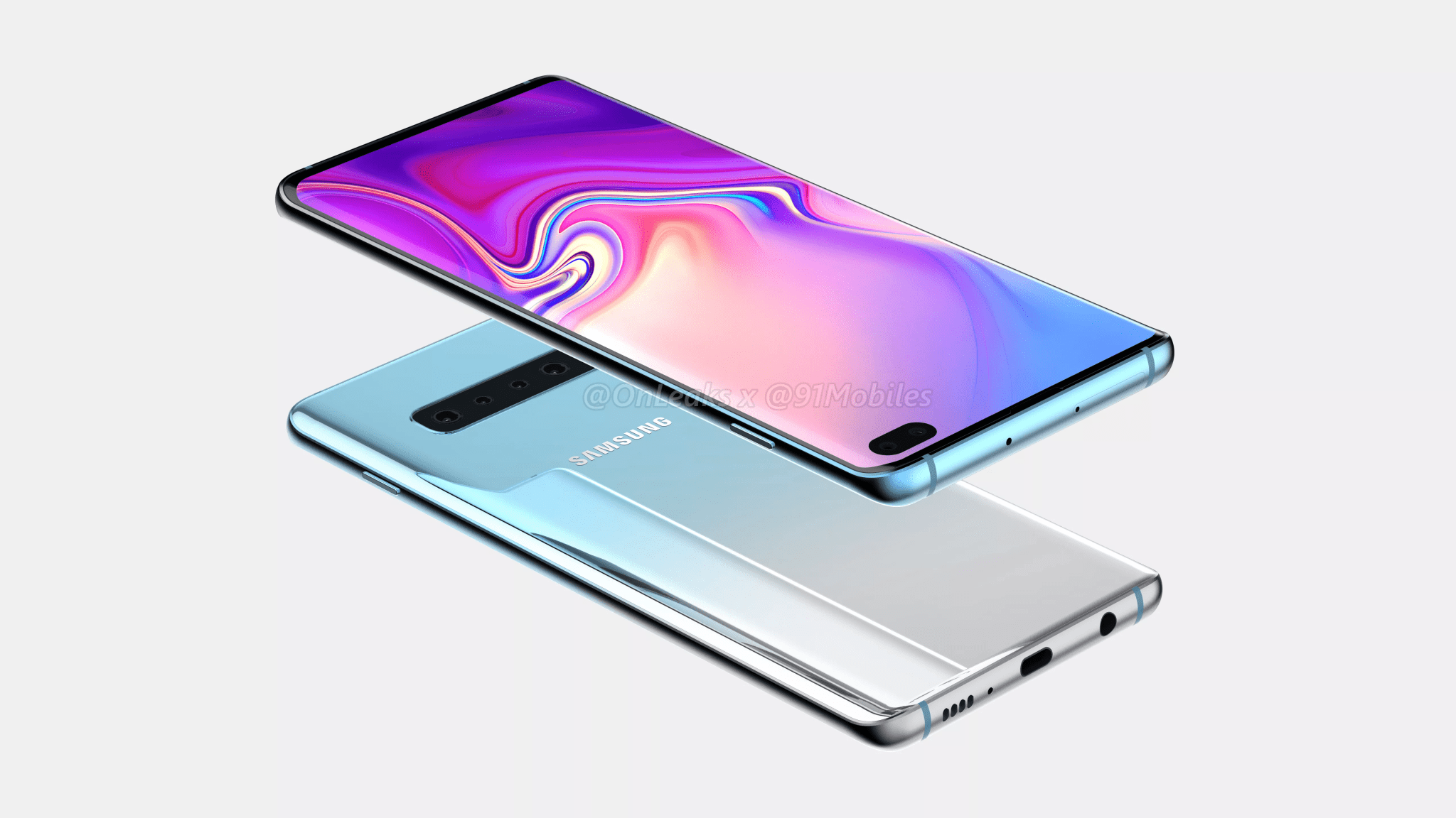 Samsung Galaxy S10 Plus CAD Renders reveal the design from every angle