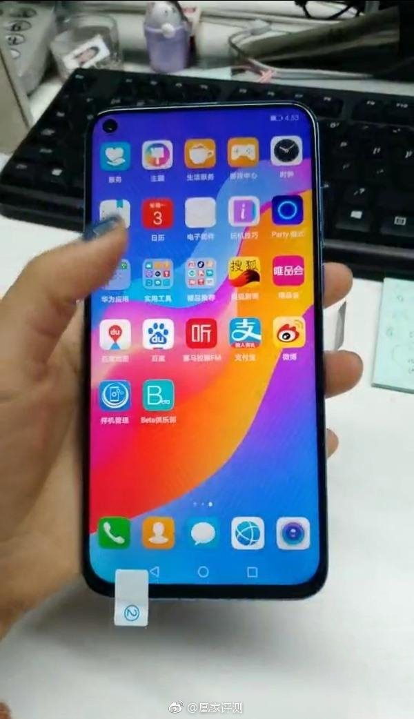 Huawei Nova 4 with display hole shows up in hands-on images