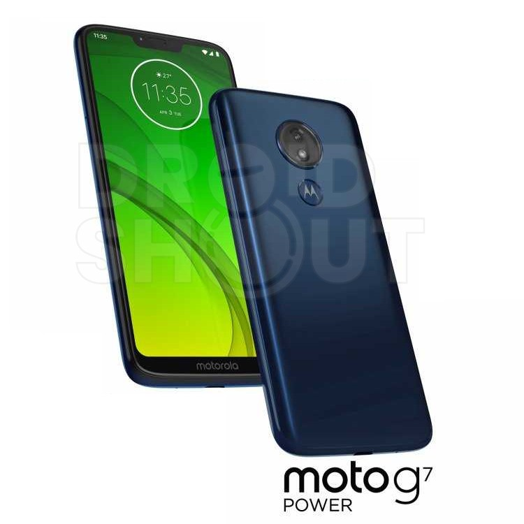 Whole Moto G7 family leaks in official press renders - Play, Plus and Power