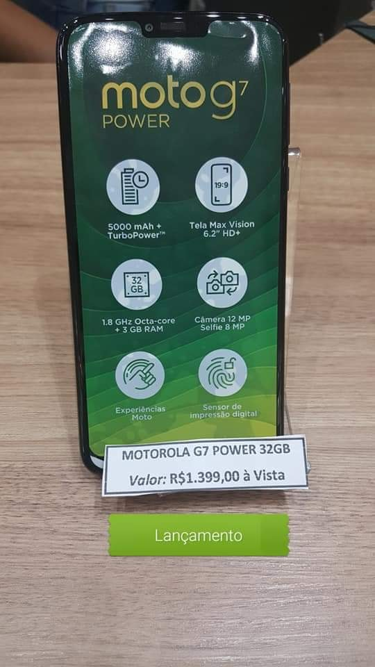 Moto G7 Power main Specifications