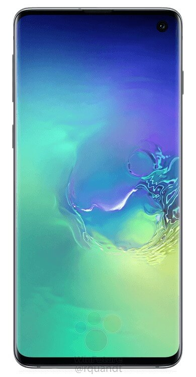 Here are the official press renders of the Samsung Galaxy S10 & S10+