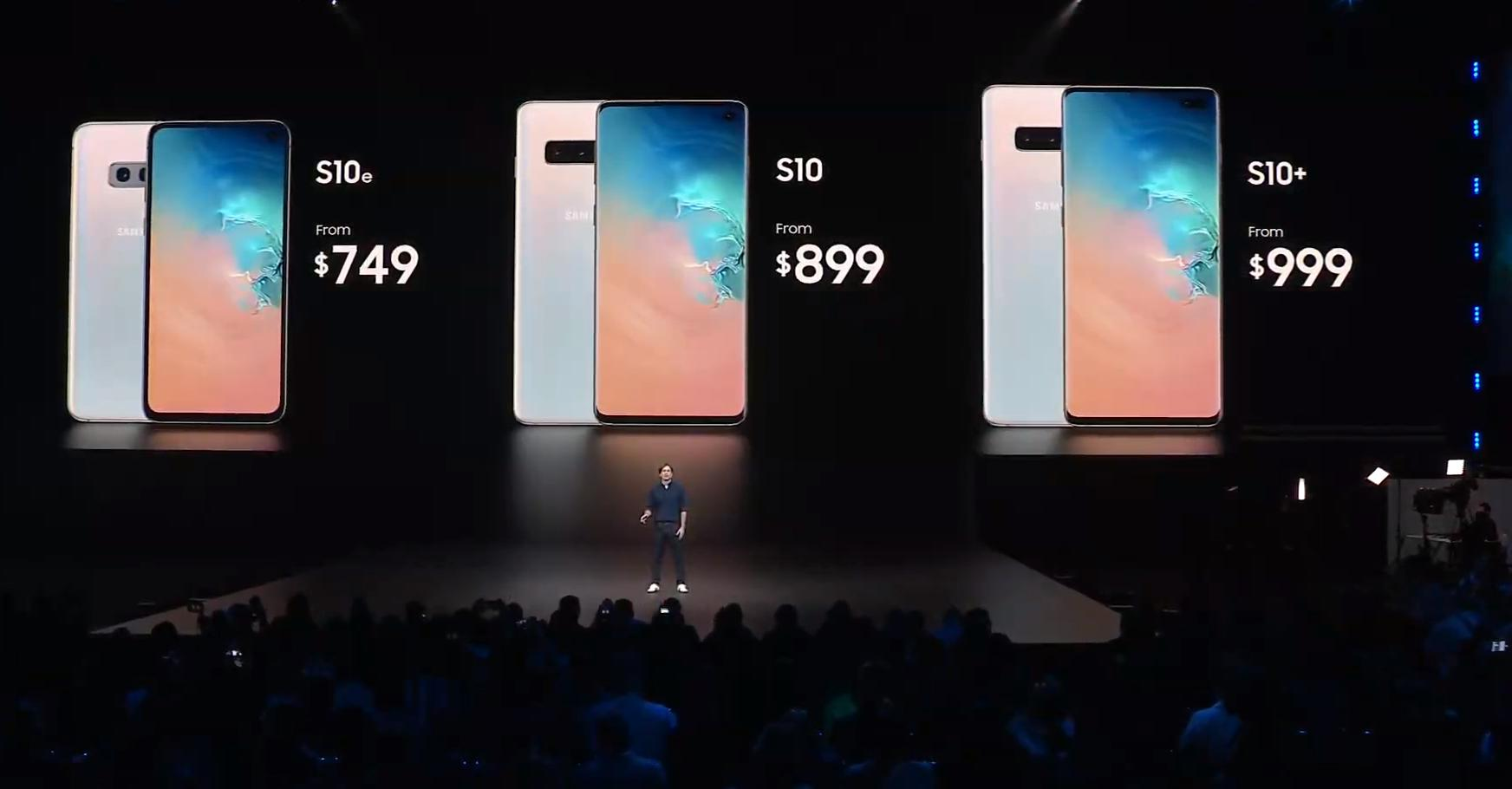 Here's the pricing for Samsung Galaxy S10 Family in India