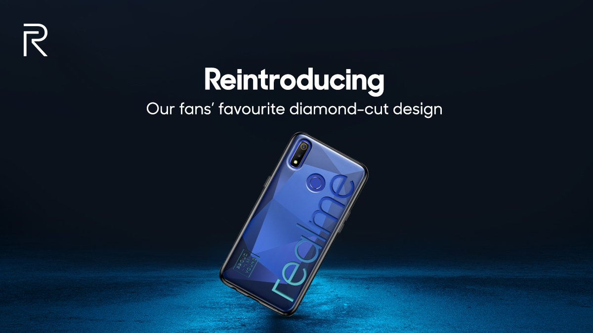 Realme 3 From the rear