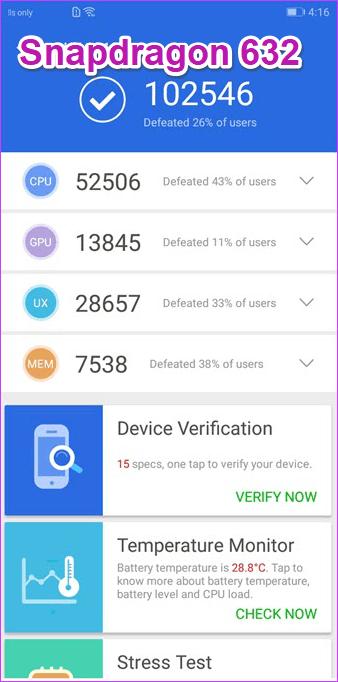 Exynos 7904 vs Snapdragon 632