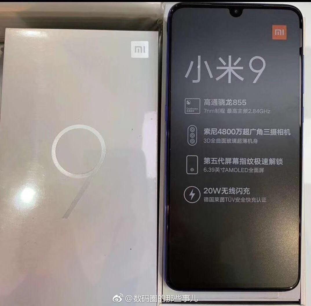 Xiaomi Mi 9 might support 20W Fast Wireless Charging